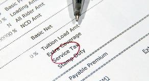 Service-Steuer Lizenzfreie Stockbilder