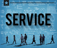 Service Support Customer Satisfaction Assistance Concept Royalty Free Stock Photo