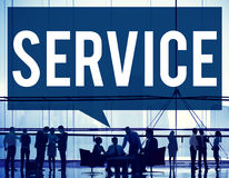 Service Support Delivery Assistance Care Concept Stock Image