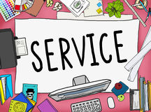 Service Support Satisfaction Consumerism Concept Royalty Free Stock Photo