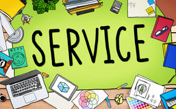 Service Support Satisfaction Consumerism Concept Stock Images