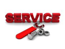 Service symbol Stock Photography