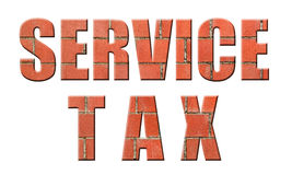 Service Tax Royalty Free Stock Images