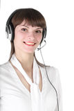 Service of technical support. Royalty Free Stock Photography
