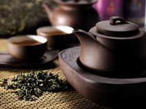 Service à thé chinois Photographie stock libre de droits