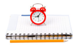 Service time while clock morning beginning Stock Photography