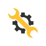 Service tool icon. Repair service tool concept icon. Vector illustration in flat style isolated on white background stock illustration