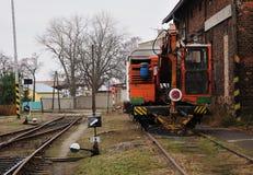 Service train Stock Image