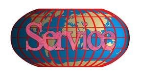 Service transnational Photo libre de droits