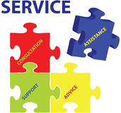 Service Vector Royalty Free Stock Photos