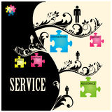 Service Vector Royalty Free Stock Images