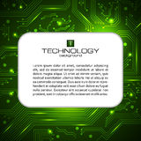 IT service vector banner. Can be used for web design, brochure template. Royalty Free Stock Photography