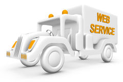 Service vehicle Stock Photography