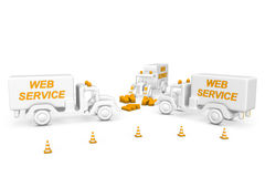 Service vehicle Stock Image