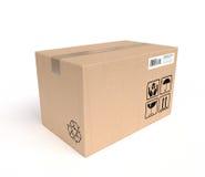 Service von Paketen Lizenzfreies Stockbild