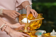 Service wedding planner based in Thailand. Stock Image