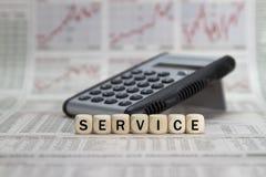 Service word cloud Stock Photos