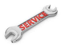 Service wrench Stock Photo