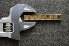 Service wrench Stock Image