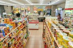 7-11 servicebutik Royaltyfria Foton