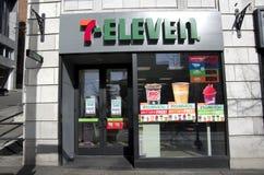Servicebutik 7 elva Arkivbilder