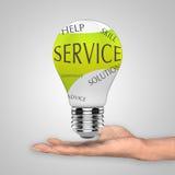 Servicekonzept stock abbildung