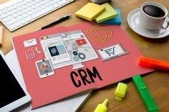 Servicekonzept CRM-Firmenkunde CRM-betriebswirtschaftlicher Auswertung, lizenzfreie stockfotografie