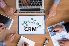 Servicekonzept Firmenkunde CRM-betriebswirtschaftlicher Auswertung lizenzfreie stockfotos
