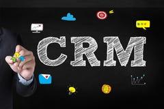 Servicekonzept Firmenkunde CRM-betriebswirtschaftlicher Auswertung stockfotografie