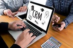 Servicekonzept Firmenkunde CRM-betriebswirtschaftlicher Auswertung, Cust stockbild