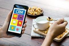 Servicekonzept Firmenkunde CRM-betriebswirtschaftlicher Auswertung, Cust stockfoto
