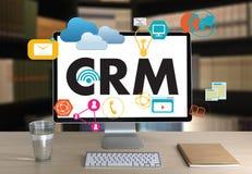 Servicekonzept Firmenkunde CRM-betriebswirtschaftlicher Auswertung, Cust stockfotografie