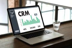 Servicekonzept Firmenkunde CRM-betriebswirtschaftlicher Auswertung, Cust lizenzfreie stockfotografie
