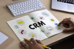 Servicekonzept Firmenkunde CRM-betriebswirtschaftlicher Auswertung, Cust lizenzfreies stockbild
