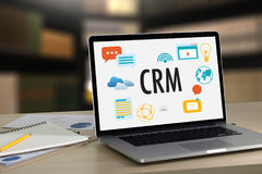 Servicekonzept Firmenkunde CRM-betriebswirtschaftlicher Auswertung, Cust stockbilder