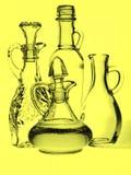Services à condiments d'huile d'olive Photo libre de droits