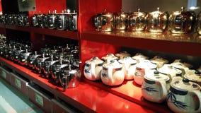 Services à thé images stock