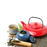 Services à thé chinois photos stock