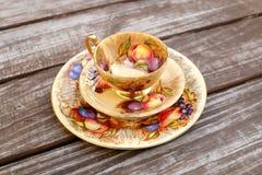 Services à thé de style de vintage Image stock
