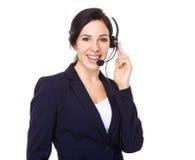 Services client auxiliaires Images stock