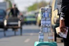Services d'échange d'argent Images libres de droits