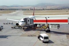 Services d'aéroport Photo libre de droits