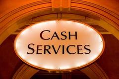 services d'argent comptant images stock