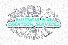 Services de création de plan d'action - concept d'affaires Photos stock