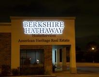 Services de maison de Berkshire Hathaway images libres de droits