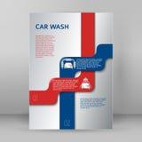 Services des réparations de voiture de la présentation booklet02 de voitures Photographie stock libre de droits