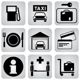 Services icons Royalty Free Stock Photos