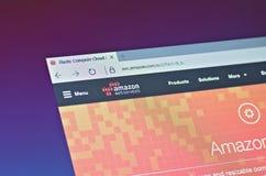 Services Web d'Amazone images libres de droits