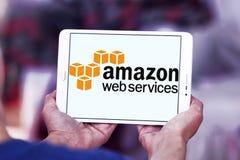 Services Web d'Amazone, AWS, logo images stock