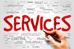 SERVICES Stock Photography